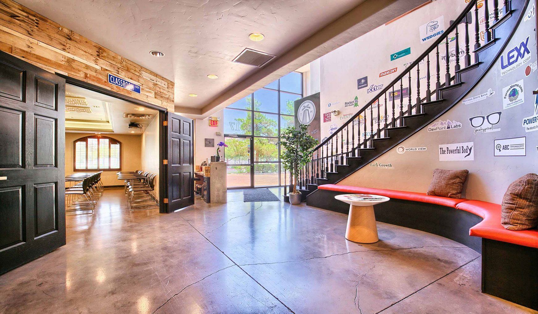 Las Vegas Coworking, Events and Meeting Space · Work in Progress