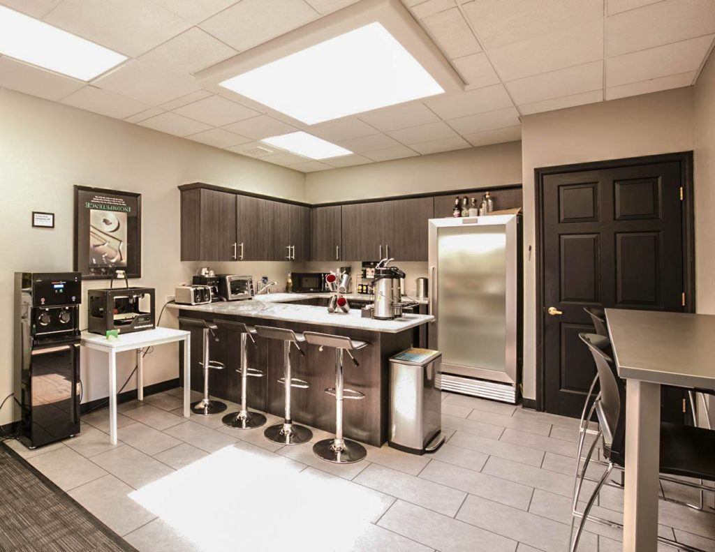 Shared Kitchen at Office Space Las Vegas
