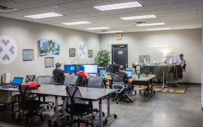 Coworking gives you exactly the amount of office you need