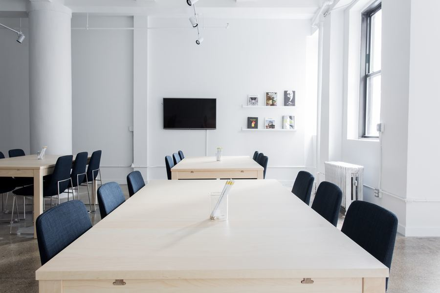 meeting spaces can fill up quickly in coworking facilities