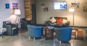 Coworking Space Lounge Area
